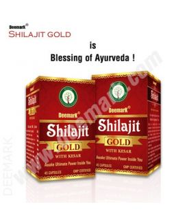 Deemark Shilajit Gold 45 Caps (Combo Pack - 2 Pcs)