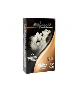 Manforce Coffee Flavoured Condoms (10's pack)