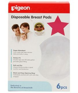Pigeon - Disposable Breast Pads (6 pcs/pack)