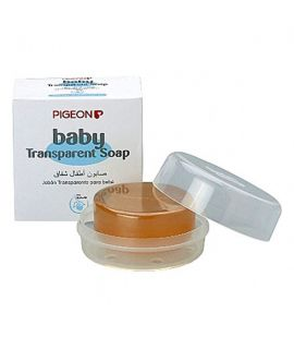 Pigeon Baby Transparent soap with case - 80 gms