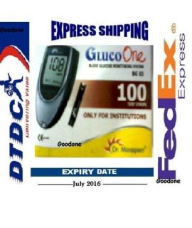 DR MOREPEN GLUCO ONE BG 03 - 100 TEST STRIPS
