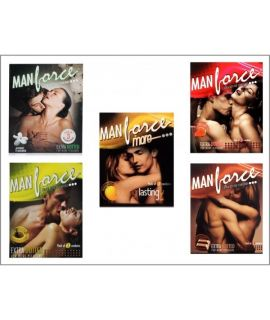 Manforce Flavours Combo (20 packs of 3's)