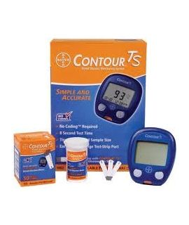 Contour TS Blood Glucose Meter (With Lancing Device)