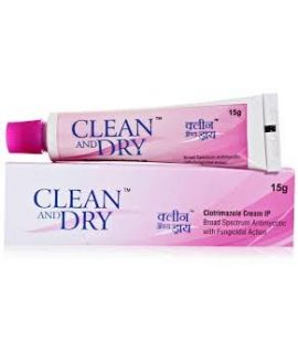 Clean and Dry Cream - 15gm