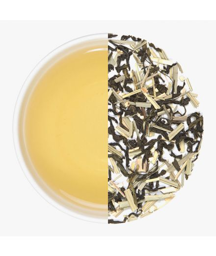 LEMON GINGER GREEN TEA - 1kg